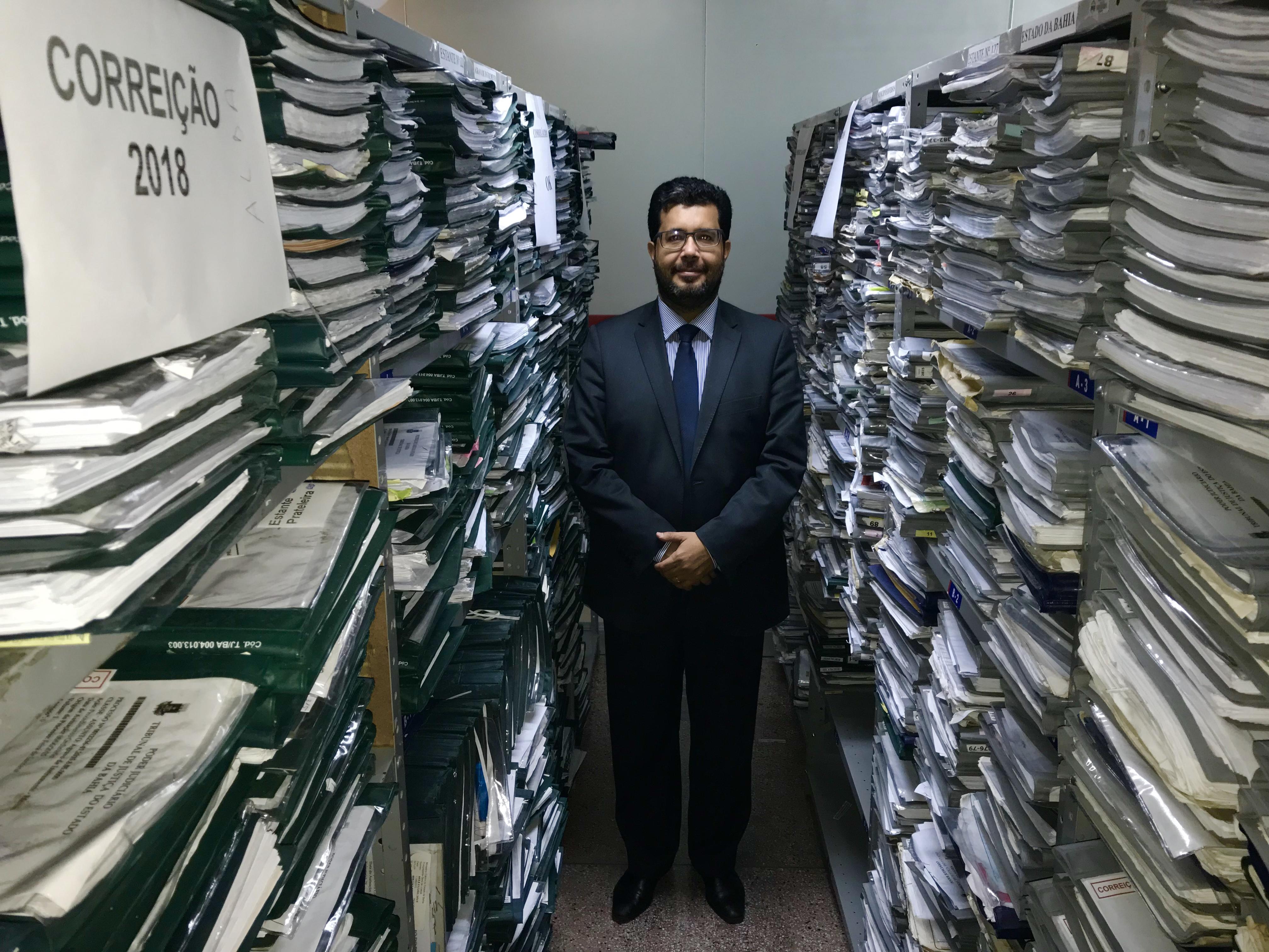 INSPEÇÃO REALIZADA NA SEÇÃO DE RECURSOS APURA A EXISTÊNCIA DE 13.293 PROCESSOS EM TRÂMITE NA UNIDADE