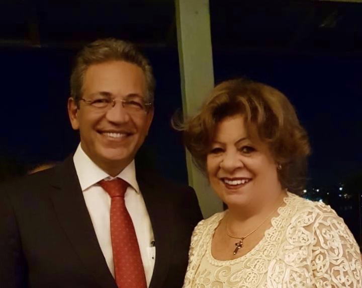 A 2ª Vice Presidente cumpre agenda em Brasília