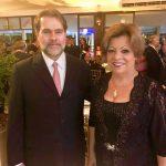 Ministro Dias Toffoli e Desa Maria da Graça Osório