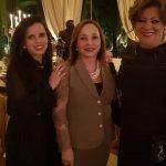 Amiga, Ministra Assusete Magalhães e a Desa Maria da Graça Osório Pimentel Leal.